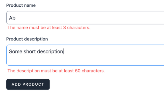 Livewire Form with Live Validation